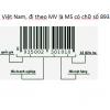 Cấp mã số mã vạch tại Tổng cục TC-ĐL-CL